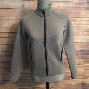 Lululemon NTS jacket size 6 heathered black